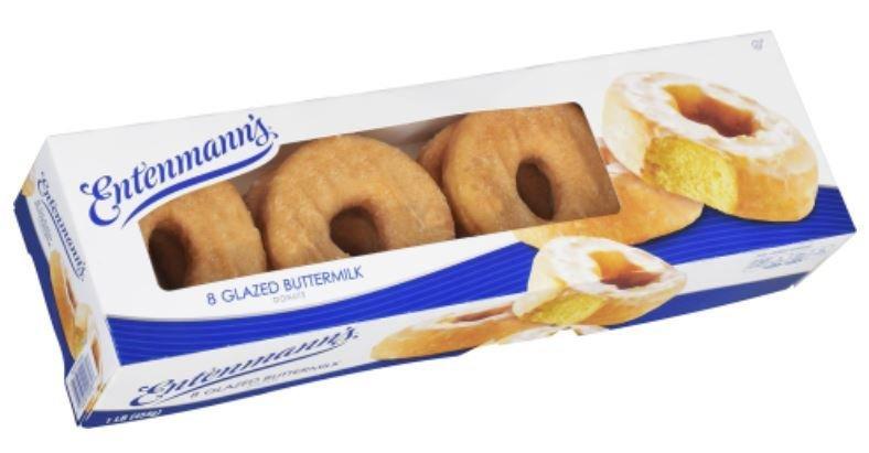 Donuts, Entenmann's® Glazed Buttermilk Donuts (8 Count, 16 oz Box)