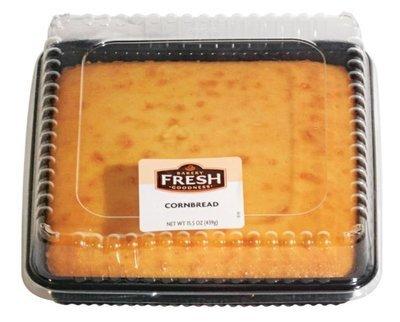 Corn Bread, Bakery Fresh Goodness® Corn Bread (15.5 oz Tray)
