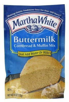 Corn Bread Mix, Martha White® Buttermilk Corn Bread & Muffin Mix (6 oz Bag)