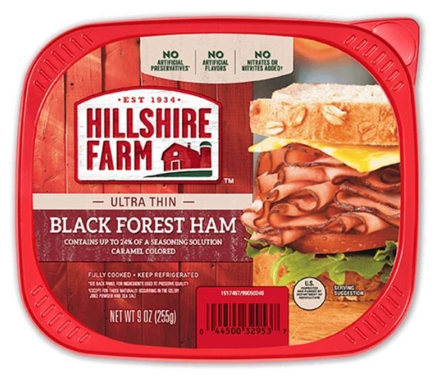 Sandwich Meat, Hillshire Farm® Black Forest Ham (9 oz Resealable Tray)