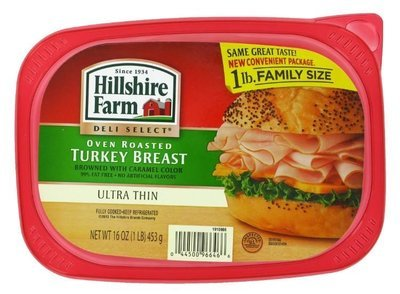 Turkey Deli Meat, Hillshire Farm® Oven Roasted Turkey (16 oz Resealable Tray)