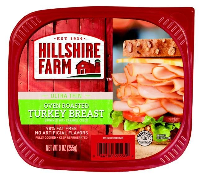 Turkey Deli Meat, Hillshire Farm® Oven Roasted Turkey (9 oz Resealable Tray)
