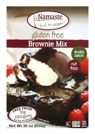 Brownie Mix, Namaste Foods® Gluten Free Brownie Mix (30 oz Box)