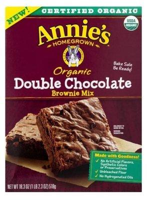 Brownie Mix, Annie's® Organic Double Chocolate Brownie Mix (18.3 oz Box)