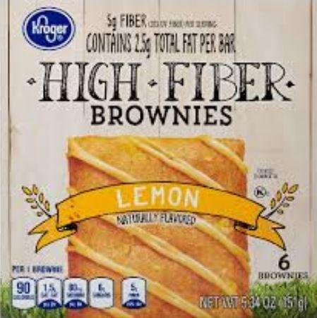 Brownies, Kroger® Lemon Brownies (6 Count, 5.34 oz Box)