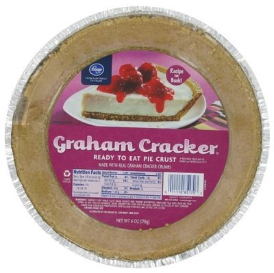 Pie Crust, Kroger® Graham Cracker Pie Crust (6 oz Tray)