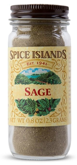 Seasonings, Spice Islands® Sage (.8 oz Jar)