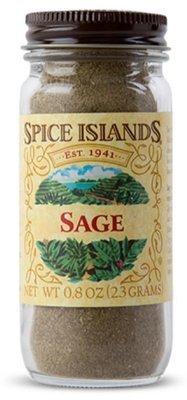 Seasonings, Spice Islands® Sage (.8 oz Jar)