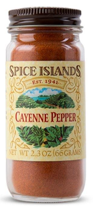 Seasonings, Spice Islands® Cayenne Pepper (2.3 oz Jar)