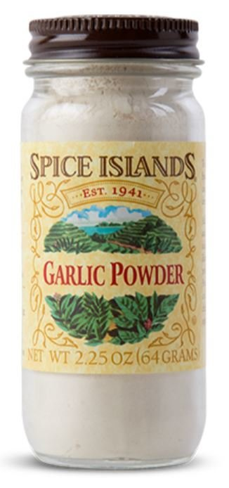 Seasonings, Spice Islands® Garlic Powder (2.25 oz Jar)