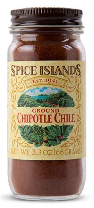 Seasonings, Spice Islands® Ground Chipolte Chile (2.3 oz Jar)