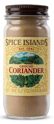 Seasonings, Spice Islands® Ground Coriander (1.7 oz Jar)