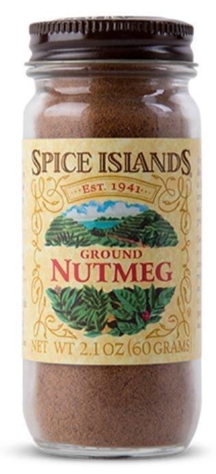 Seasonings, Spice Islands® Ground Nutmeg (2.1 oz Jar)