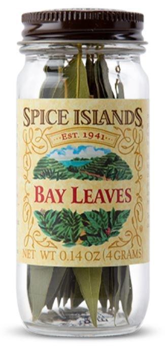 Seasonings, Spice Islands® Whole Bay Leaves (.14 oz Jar)