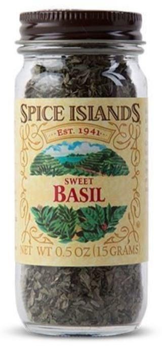 Seasonings, Spice Islands® Sweet Basil (0.5 oz Jar)