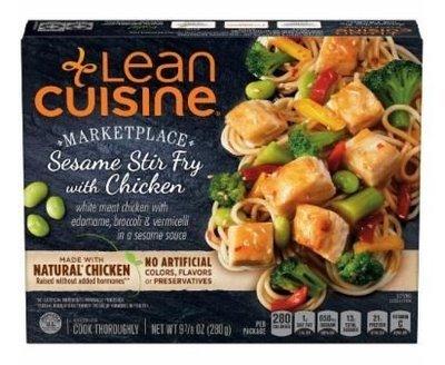 Frozen Dinner, Lean Cuisine® Marketplace™ Sesame Stir Fry with Chicken (9.875 oz Box)