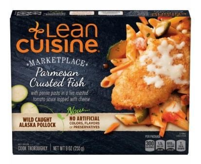 Frozen Dinner, Lean Cuisine® Marketplace™ Parmesan Crusted Fish (9 oz Box)