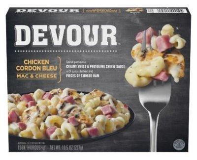 Mac N Cheese Dinner, Devour® Chicken Cordon Bleu Mac & Cheese (10.5 oz Box)
