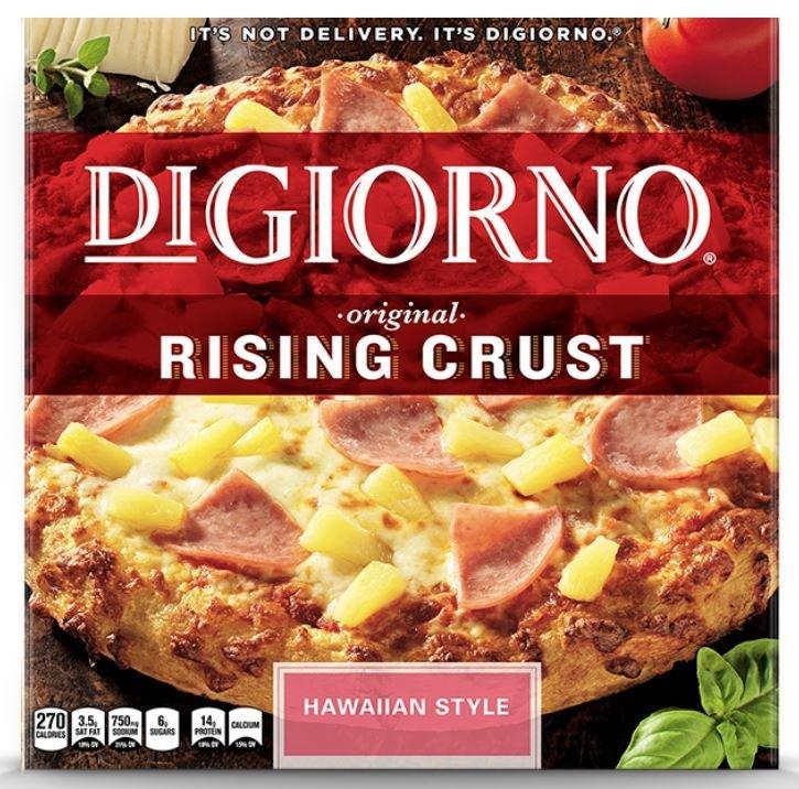 Frozen Pizza, Digiorno® Rising Crust Hawaiian Pizza (27.5 oz Box)