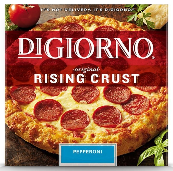 Frozen Pizza, Digiorno® Rising Crust Pepperoni Pizza (27.5 oz Box)