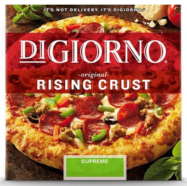 Frozen Pizza, Digiorno® Rising Crust Supreme Pizza (31.5 oz Box)