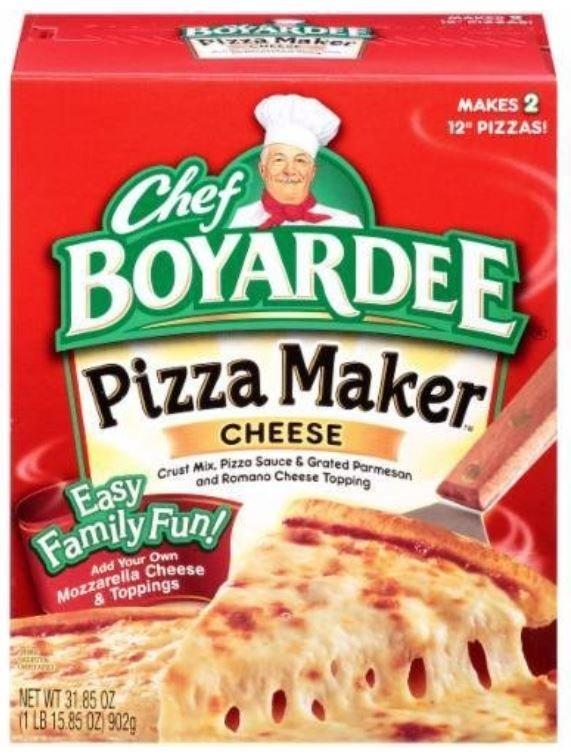 Pizza Kit, Chef Boyardee® Cheese Pizza Maker (31.85 oz Box)