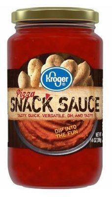 Pizza Sauce, Kroger® Pizza Snack Sauce (14 oz Jar)