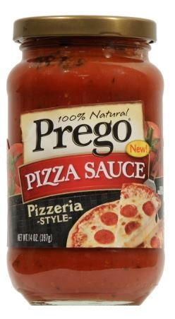 Pizza Sauce, Prego® Pizzeria Style Pizza Sauce (14 oz Jar)