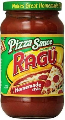 Pizza Sauce, Ragu® Homemade Style Pizza Sauce (14 oz Jar)