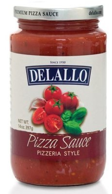 Pizza Sauce, DeLallo® Pizzeria Style Pizza Sauce (14 oz Jar)