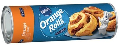 Cinnamon Roll Dough, Pillsbury® Orange Sweet Rolls with Orange Icing (13.9 oz Tube)
