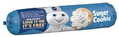 Cookie Dough, Pillsbury® Sugar Cookie Dough (16.5 oz Tube)
