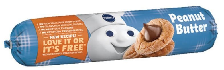 Cookie Dough, Pillsbury® Peanut Butter Cookie Dough (16.5 oz Tube)