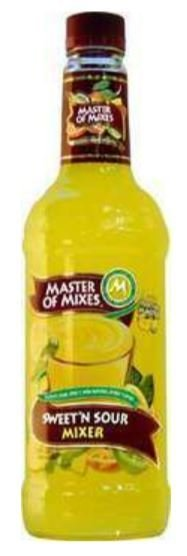 Drink Mixer, Master Of Mixes® Sweet n' Sour Mix (1 Liter Bottle - 33.8 oz)