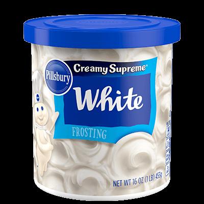 Cake Frosting Mix, Pillsbury® Creamy Supreme™ White Frosting (16 oz Tub)