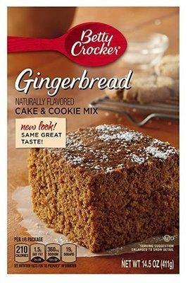 Cake Mix, Betty Crocker® Gingerbread Cake Mix (14.5 oz Box)