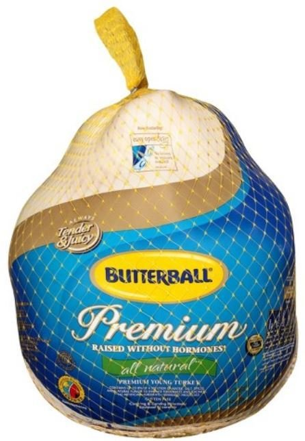 Whole Turkey, Butterball® Frozen Whole Turkey (24-26 lb Frozen Turkey)