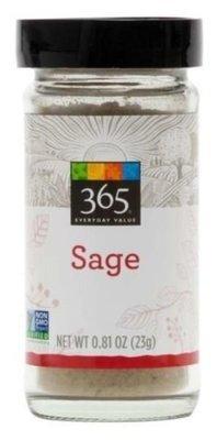 Seasonings, 365® Sage (0.81 oz Jar)
