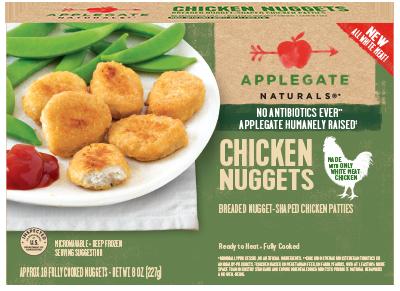 Chicken Nuggets, Applegate Farms® Chicken Nuggets (8 oz Box)