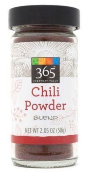 Seasonings, 365® Chili Powder Blend (2.05 oz Jar)