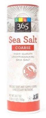 Seasonings, 365® Sea Salt (24.7 oz Tube)