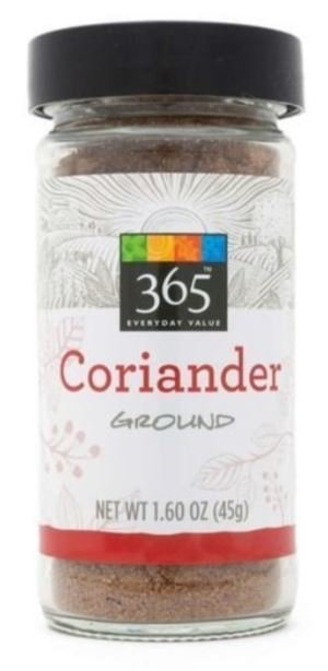 Seasonings, 365® Coriander (1.6 oz Jar)