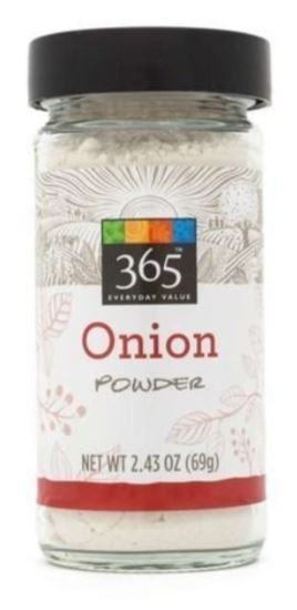 Seasonings, 365® Onion Powder (2.43 oz Jar)