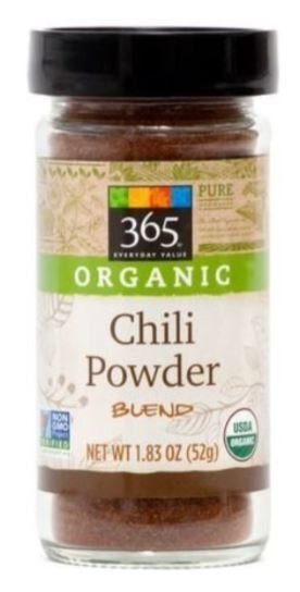 Organic Seasonings, 365® Organic Chili Powder Blend (1.83 oz Jar)