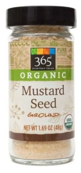 Organic Seasonings, 365® Organic Mustard Seed (1.69 oz Jar)