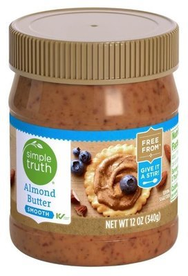 Almond Butter, Simple Truth™ Smooth Almond Butter (12 oz Jar)
