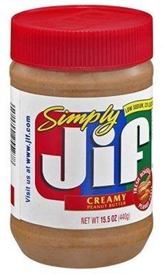 Peanut Butter, Jif® Simply Creamy Peanut Butter (15.5 oz Jar)