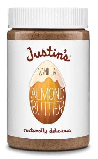 Almond Butter, Justin's® Vanilla Almond Butter (16 oz Jar)