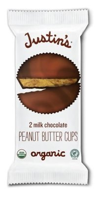 Organic Peanut Butter Cups, Justin's® Organic Mini Milk Chocolate Peanut Butter Cups (2 Cups, 1.4 oz Bag)