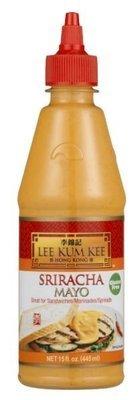 Sriracha Mayonnaise, Lee Kum Kee® Sriracha Mayo Sauce (15 oz Bottle)